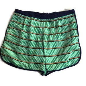 Cremieux Size 4 Green Pattern Shorts Womens Shorts
